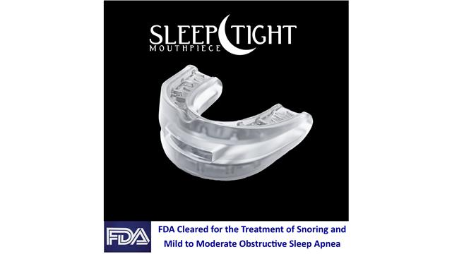 Sleep Tight Mouthpiece - Snoring and Sleep Apnea Device