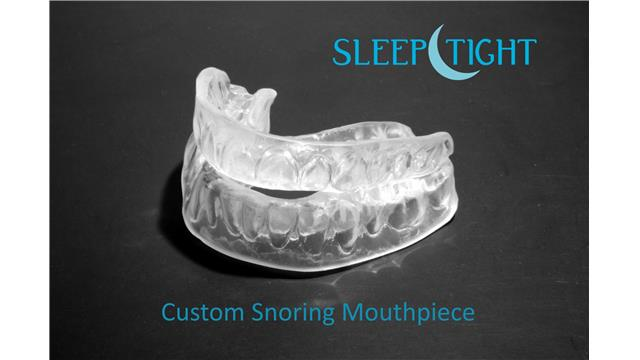 Image:  SleepTight Custom Snoring Mouthpiece