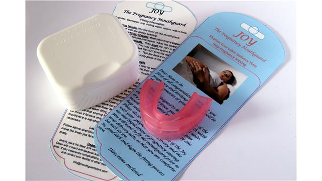 Image:  JOY the Pregnancy Mouthguard