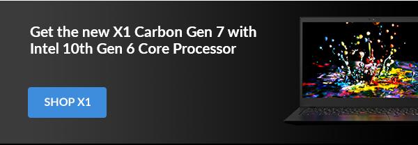 Get the new X1 Carbon Gen 7