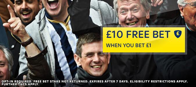 Bet £1 Get £10