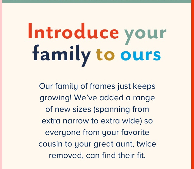 Introduce your family to ours
