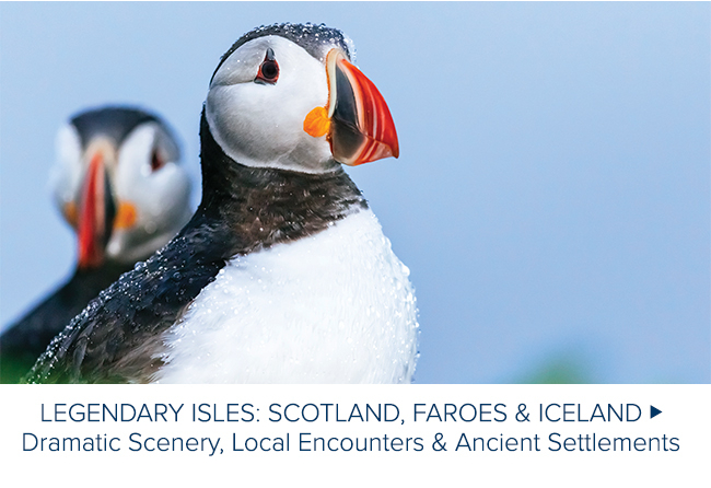LEGENDARY ISLES                                              SCOTLAND FAROES AND ICELAND