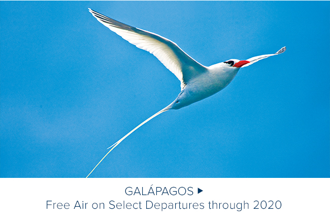 Galapagos - Free Air on                                              Select Departures