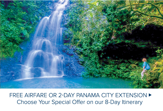 FREE AIRFARE OR 2 DAY                                              PANAMA CITY EXTENSION