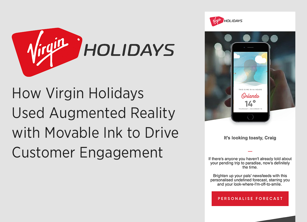 Virgin Holidays AR Case Study LP Image