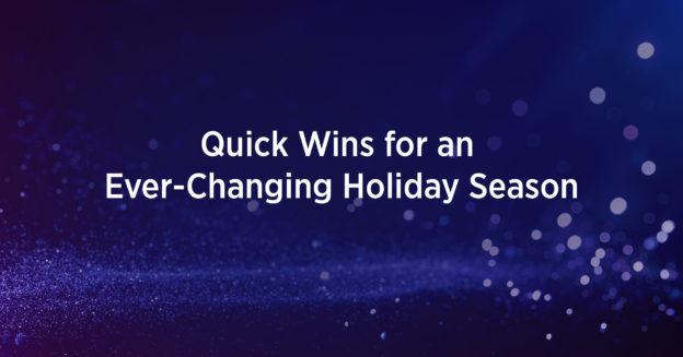 Holiday Strategies