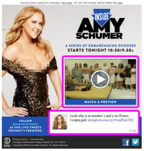 Get Inside Amy Schumer w pink