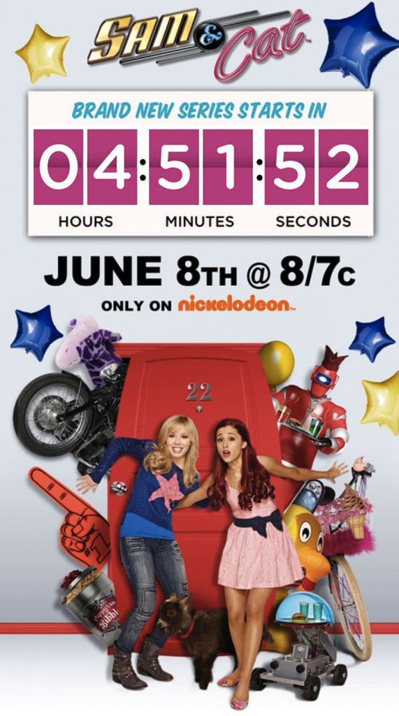 Nickelodeon Countdown Clock