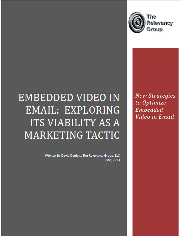 Video in Email Report