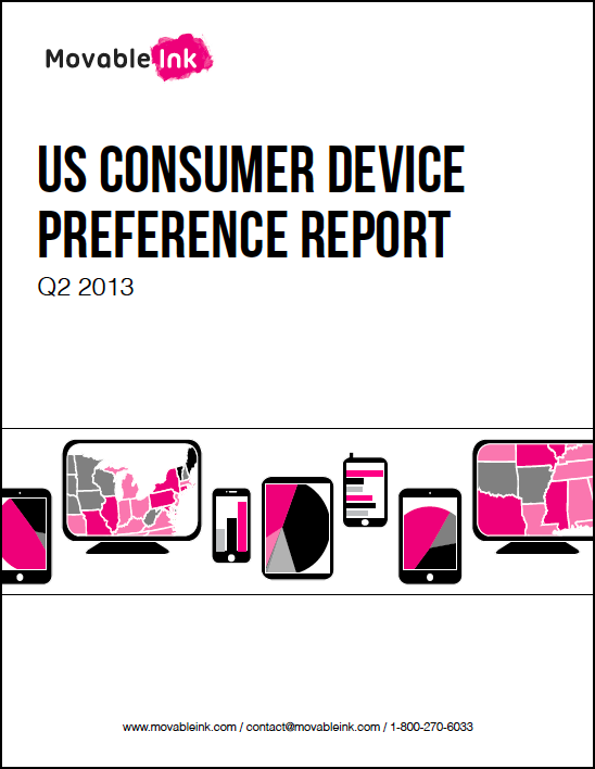 US Consumer Device Preference Report Q2 2013