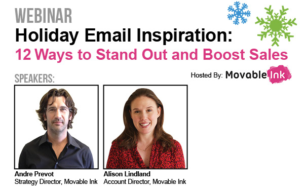 Holiday Email Inspiration Webinar Recording