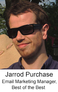Jarrod Purchase Email Marketing Manager Best of the Best