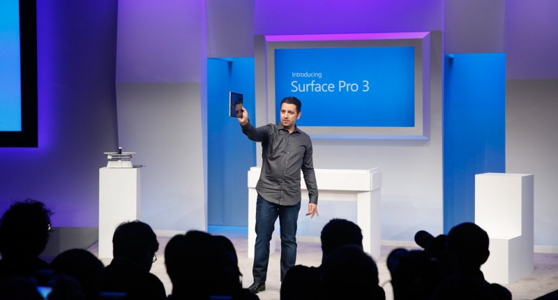 Surface Pro 3 Launch Event in New York City on May 20, 2014