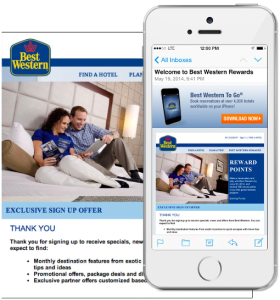 Best Western Used agileEMAIL's Deep Linking To Increase Mobile App Downloads