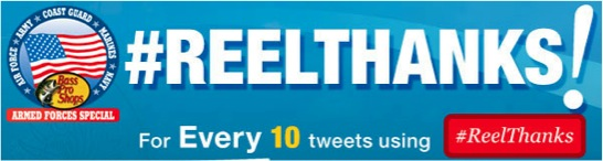 Tweet #REELTHANKS