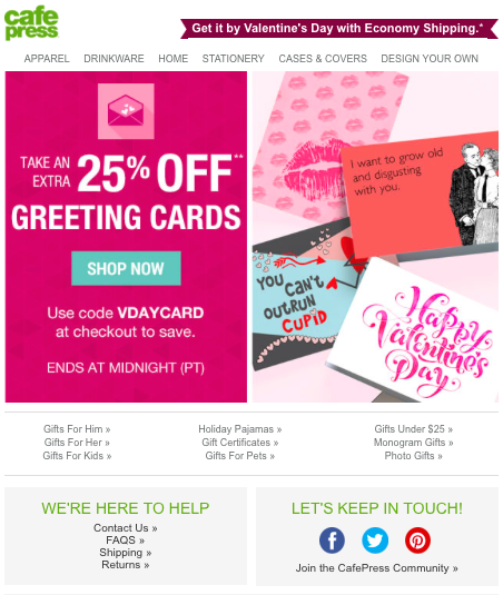 10 Awesome Valentine S Day Emails Movable Ink Blog