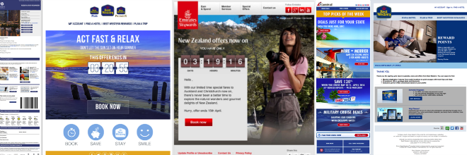 Travel and Hospitality Banner Ads