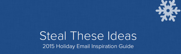 Holiday email inspiration