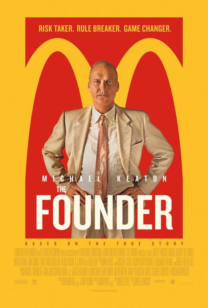 The Founder – Birdman serving you a Big Mac