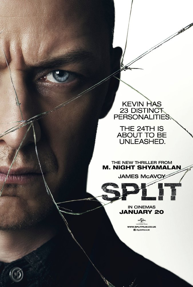 Split – by M. Night Shyamalan
