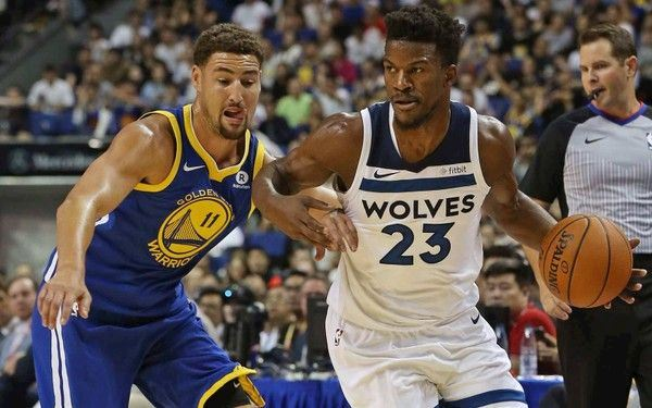 Would this be overkill if Jimmy Butler decides to be waived and sign with  the Golden State Warriors as ... 65714e49e