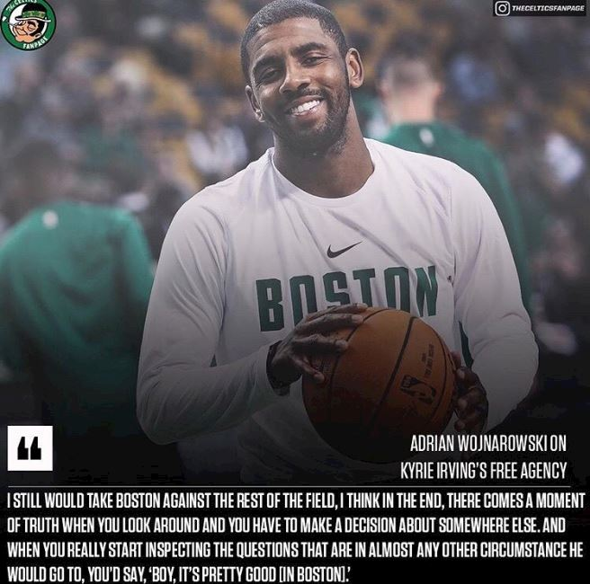 697782bd7b0e I m not sure why people are so surprised that Kyrie hasn t signed long-term  in Boston this off-season.