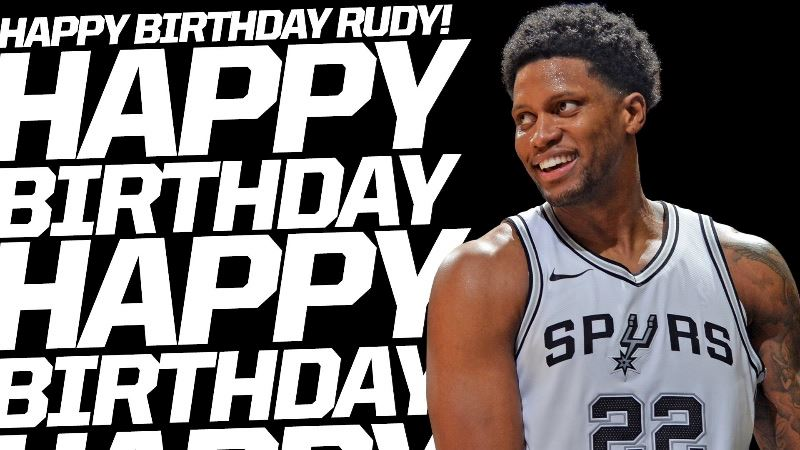 52745a93a0b Happy birthday Rudy