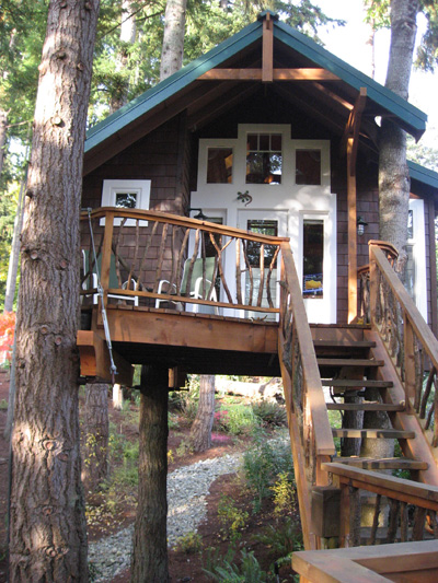 Tree House Plans For Adults House Style Ideas
