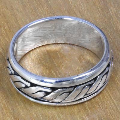 9b35145663172e Men's Silver Wedding Bands