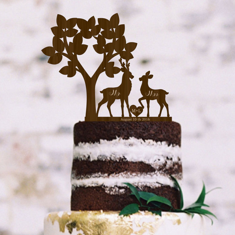 rustic couple wedding cake topper silhouette cake toppers page 1 of 1 wedding products 19495