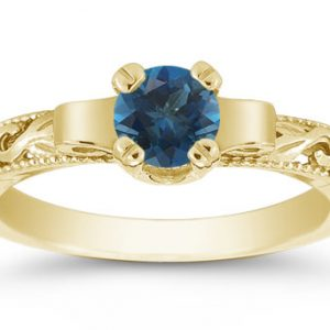 Blue Engagement Rings Page 1 Of 4 Wedding Products