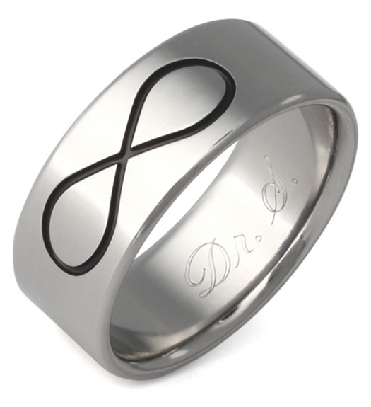 zirconia band cubic silver rings engagement art il ring bands listing symbol deco infinity