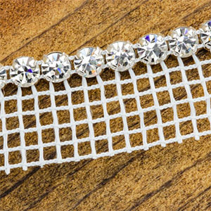 4mm Austrian Swarovski Crystal Trim