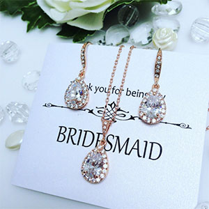 Bridesmaid Thank You Jewelry Set