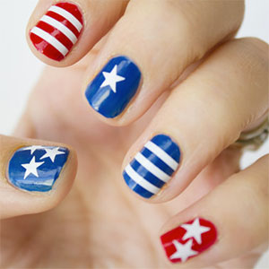 Stars and Stripes Nail Wraps