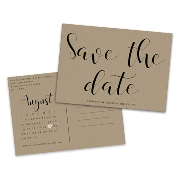 Save The Date Postcards (Page 1 Of 1)