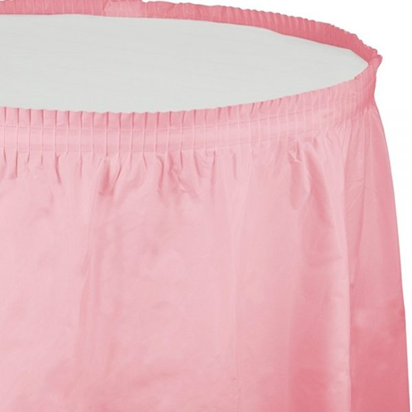 Candy Pink Table Skirt, Table Skirt