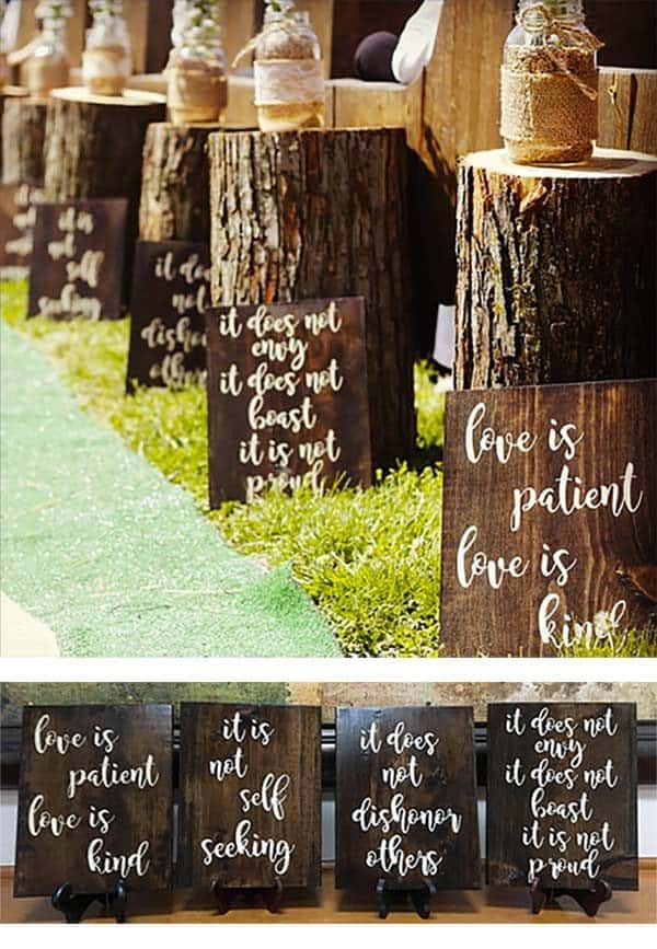 Rustic Wood Signs Page 1 Of 1 Wedding Products From