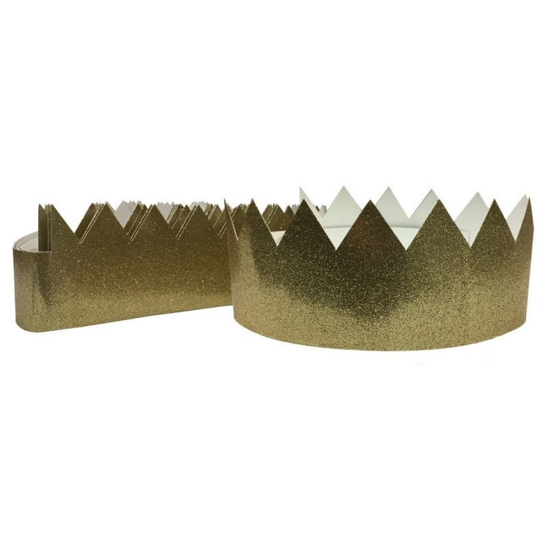 12ct Gold Tiara Crown - Spritz