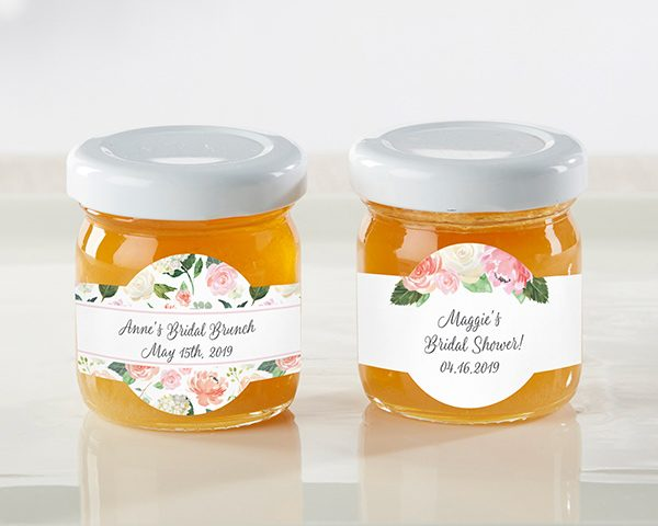Personalized Honey Jar - Bridal Brunch (Set of 12)