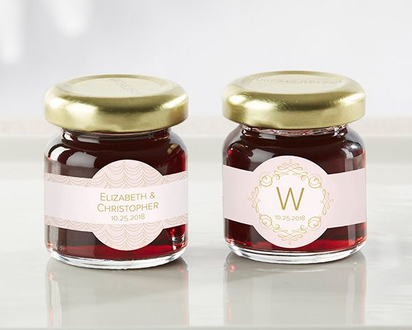 Personalized Modern Romance Strawberry Jam (Set of 12)