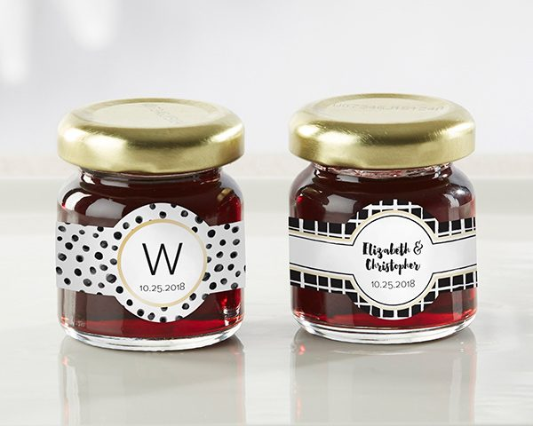 Personalized Modern Classic Strawberry Jam (Set of 12)