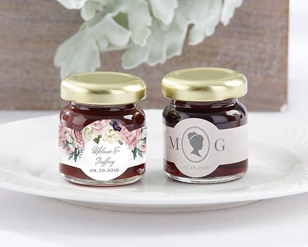 Personalized English Garden Strawberry Jam (Set of 12)