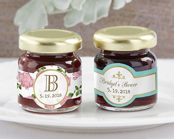 Personalized Tea Time Strawberry Jam (Set of 12)