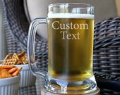 Personalized Beer Mug, Custom Beer Mug, Personalized Gift For Him, Engraved Beer Glass, Custom Beer Glass, Wedding Gift, Husband Gift C