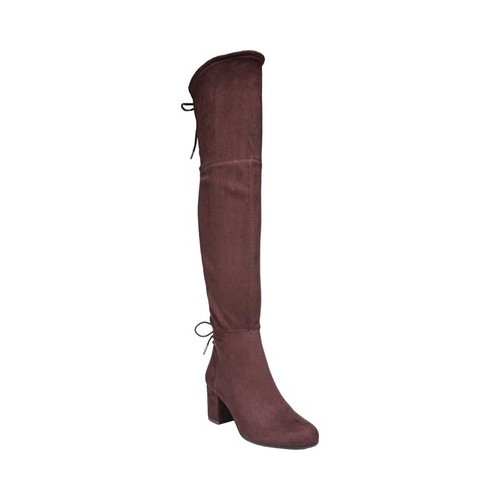 Women's Circus by Sam Edelman Virginia Over the Knee Boot, Size: 6 M, Port Wine Microsuede