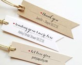 Wedding Favor Tags Wedding Thank You Tags Wedding Tags Custom gift Tag Personalized tags Bridal Shower Tag Custom Tag Smore Love Tag pttag01