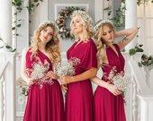 Bridesmaid Dress // Infinity Dress // Convertible Dress // Wrap Dress // Prom Dress // Multiway Dress // Party Dress //Ship from New York