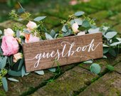Guestbook Sign, Guest Book Sign, Wedding Guestbook sign, wood guestbook, Please sign our guestbook, Wooden Wedding Signs Wood